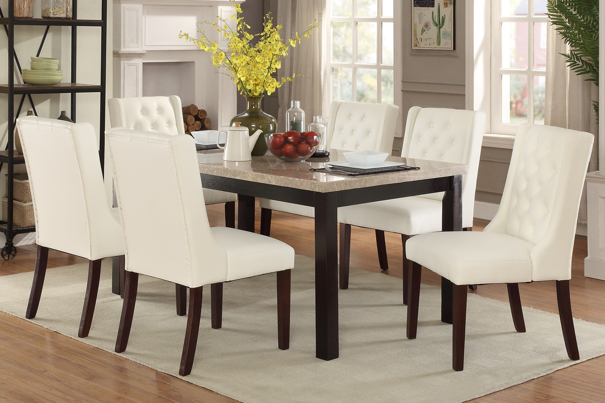 Fantastic Dining Table White Finish Chair Set Liam Furniture Rugs Squirreltailoven Fun Painted Chair Ideas Images Squirreltailovenorg