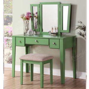 Groovy Bobkona Edna Vanity Set With Stool Black Liam Furniture Pabps2019 Chair Design Images Pabps2019Com