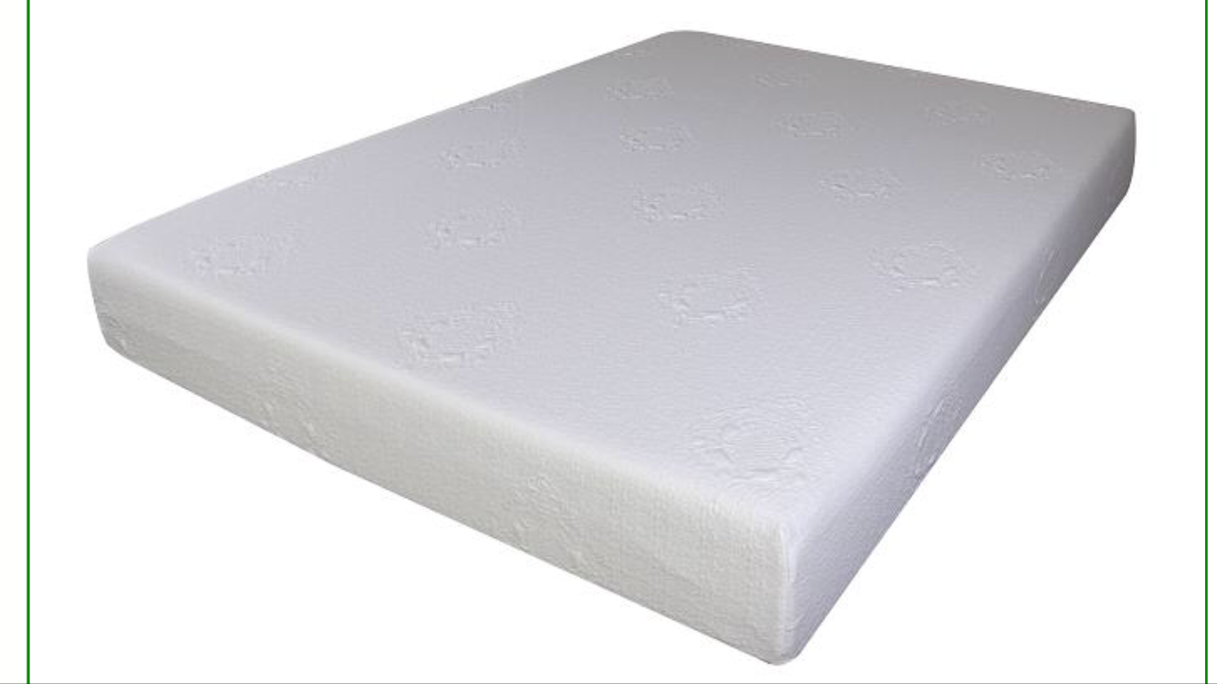 8 Memory Foam Mattresses With High End Removable Fabric And Non Slip Bottom
